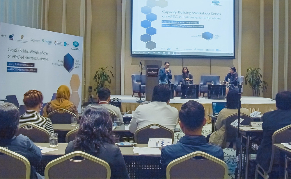 Capacity Building Workshop Series 1 on APEC MSMEs Marketplace Utilization 2019