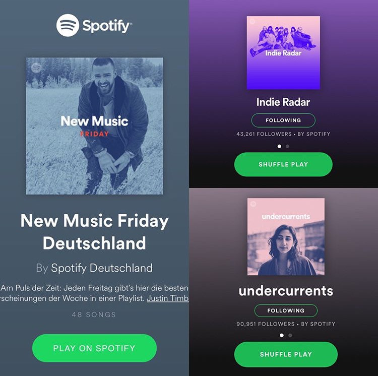 "One Day"" premiered by Spotify's New Music Friday Deutschland"