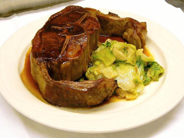 La famosa Mutton Chop di Keens