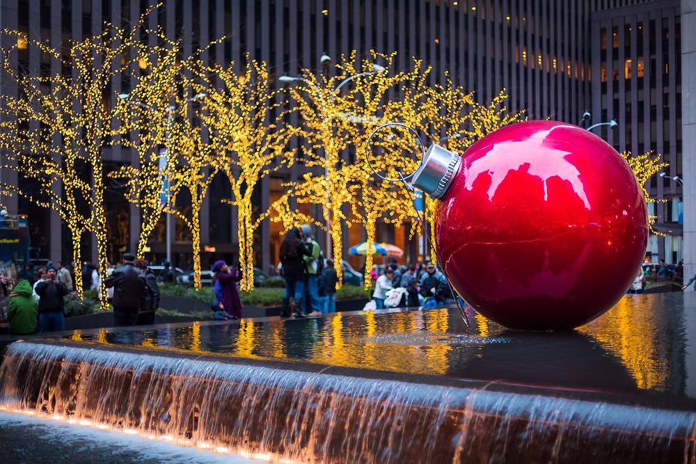Rockefeller Center a Natale