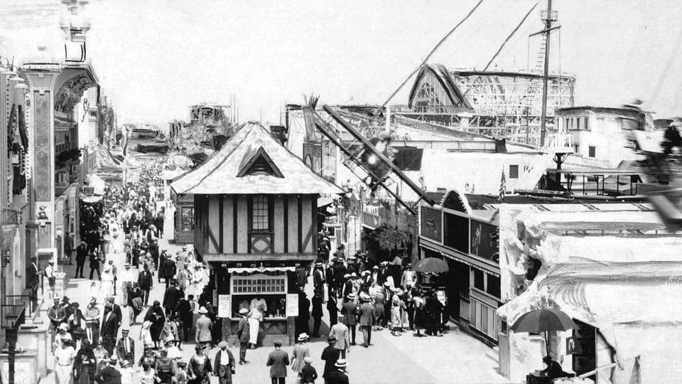 Coney Island come appariva un tempo