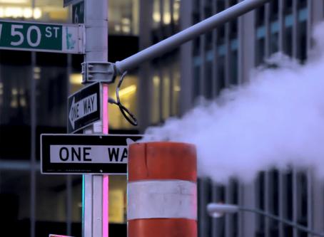 Il caratteristico vapore delle strade di New York