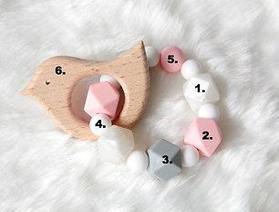 Hochet de dentition Sur mesure