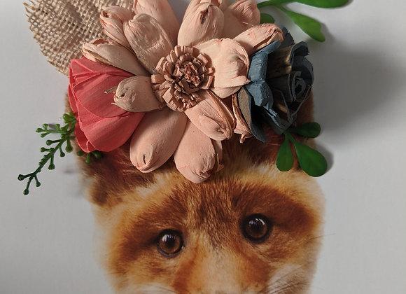 Fox, Silver Frame