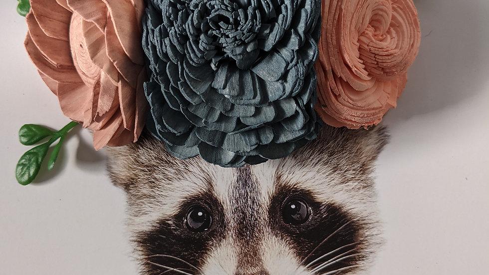 Raccoon, Black Frame