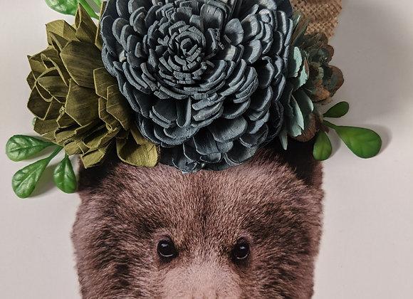 Bear, Silver Frame