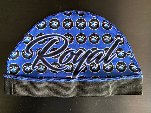 Royal Compression Cap (Blue Flames)