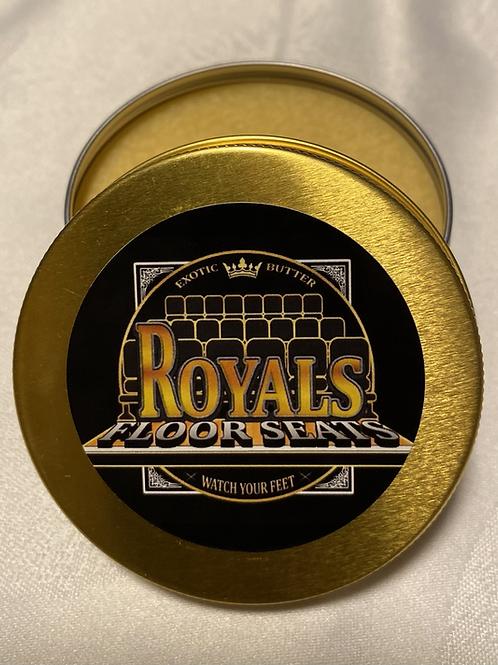 """Royals Floor Seats """"Exotic Brazilian Butter"""""""