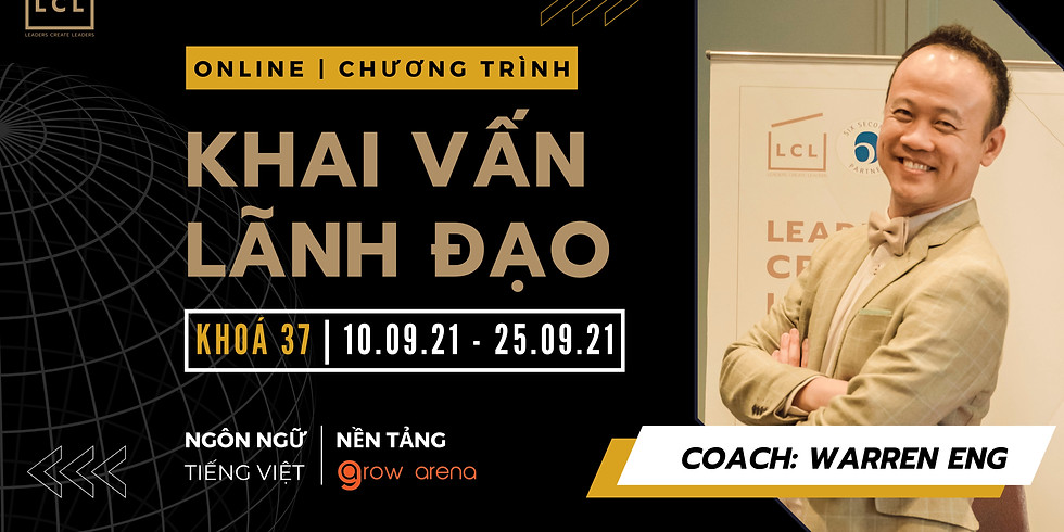 [Online] Chương trình khai vấn lãnh đạo | Khoá Tiếng Việt | Tháng 9