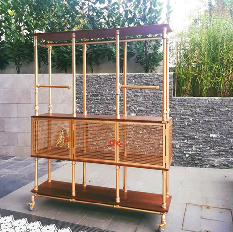 New Mobile Wardrobe with Swivel Hanging Rod