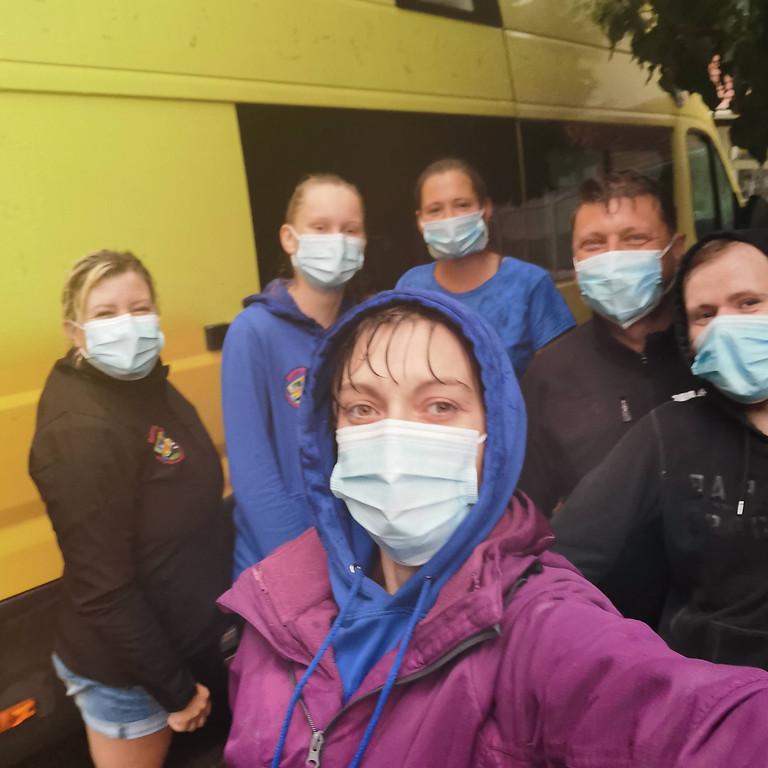 SOS DIY Emergency Shelter Build România noiembrie 2020