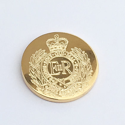 Large Royal Engineer Blazer Button