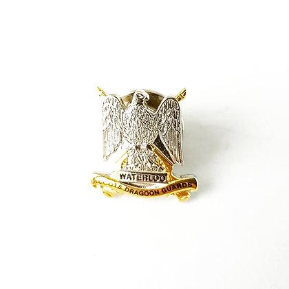 Royal Scots Dragoon Guards lapel badge