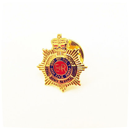 Royal Army Service Corps lapel badge