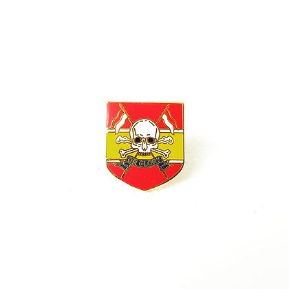 Queens Royal Lancers lapel badge