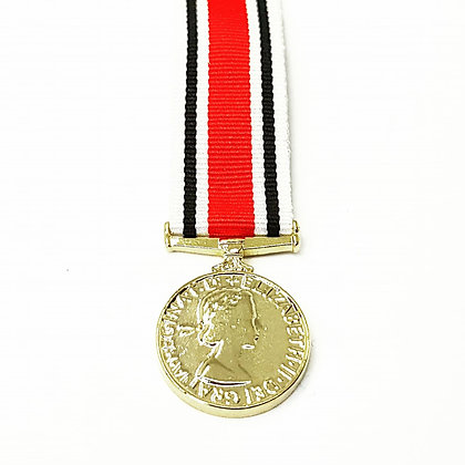 The Miniature Special Constabulary medal.