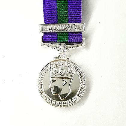 General Service Medal Malaya GVI