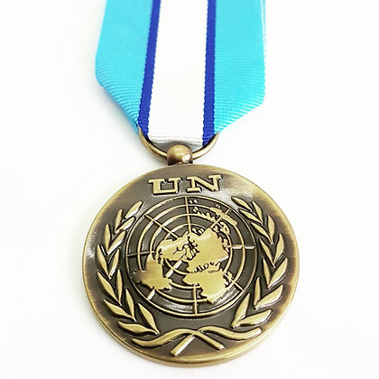 The United Nations Cyprus Medal.