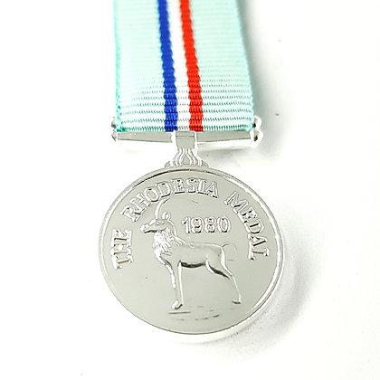 Miniature Rhodesia medal