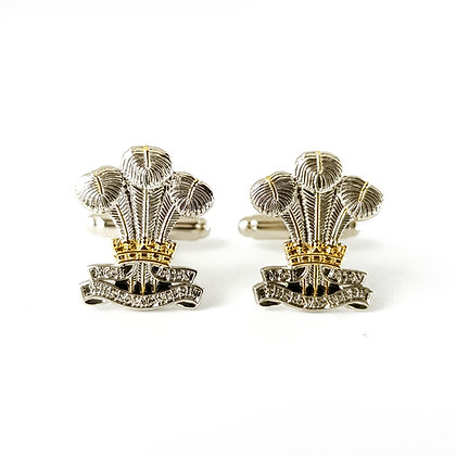 Royal Welsh Regiment cufflinks