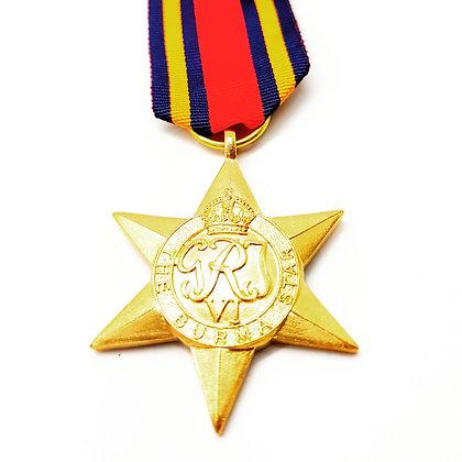 The Burma Star.