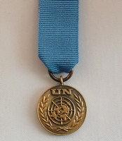 UN Head quarters medal.