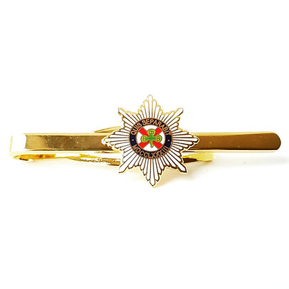 Irish Guards tie bar