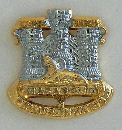Devon and Dorset Regiment Lapel Badge.