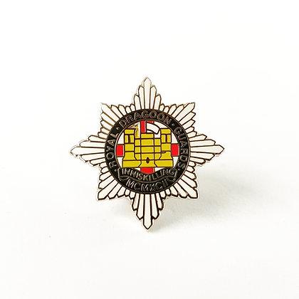 Royal Dragoon Guards lapel badge