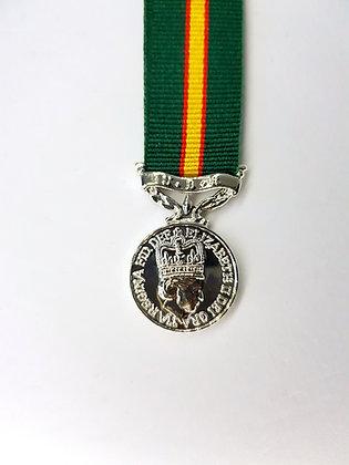 UDR Long Service medal