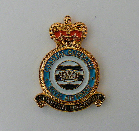 RAF Coastal Command Lapel Badge.