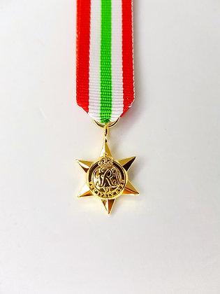 The Italy Star.