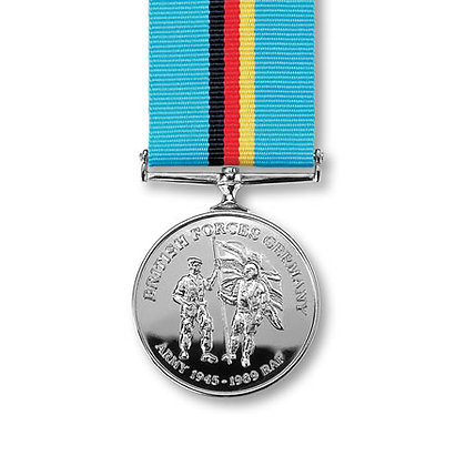 Miniature British Forces Germany Medal.
