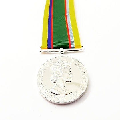 The Miniature Cadet  Forces medal.