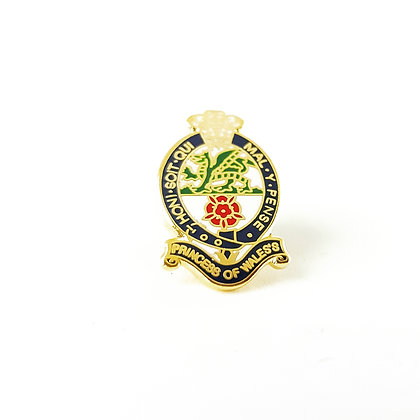 Princess of Wales Royal Regiment lapel badge