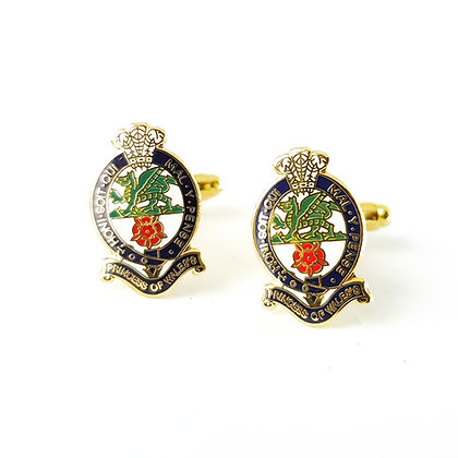 Princess of Wales Royal Regiment cufflinks