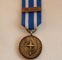 NATO/ Iraq medal.