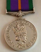Accumalated Campaign Service Medal (Old style)