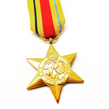 The Africa Star.