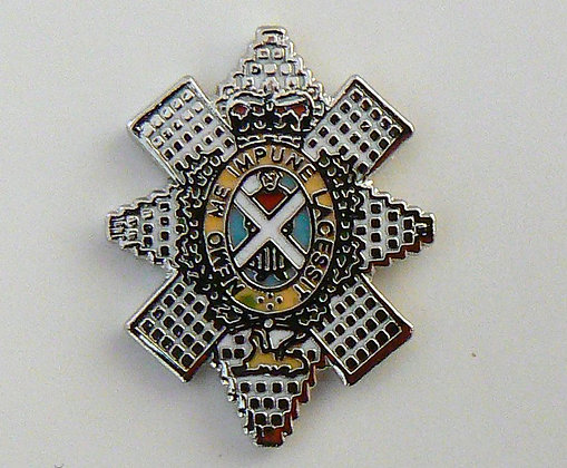The Black Watch Lapel Badge.