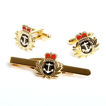 Royal Navy Crown and Anchor gift set.