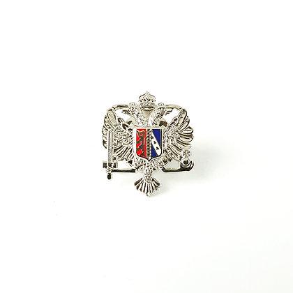 Queens Dragoon Guards lapel badge