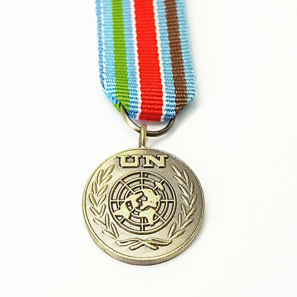 The United Nations Bosnia medal.