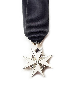 Most Venerable Order of the Hospital of Saint John Jerusalem miniature medal