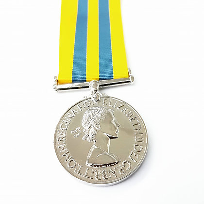 The Miniature British Korea Medal.