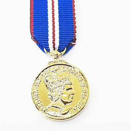 The Queens Golden Jubilee Medal.