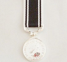 The Prison Service miniature medal
