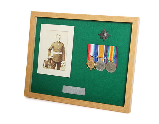 Medal Cabinet - 1-4 Medals