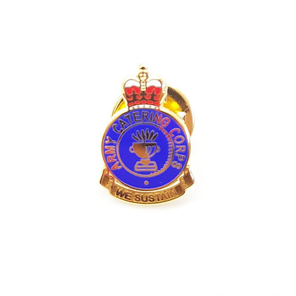 Army Catering Corps Lapel Badge.