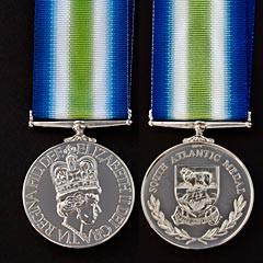 South Atlantic Medal.